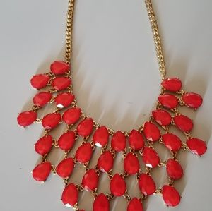 Jewelry - Red jewel necklace